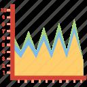 analytics, pie chart, report