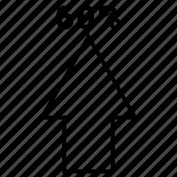 arrow, move, sixty, up, upload icon