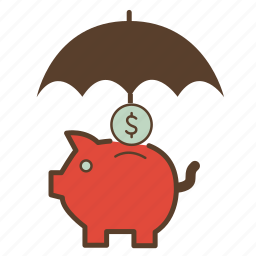 bank, coin, economies, money, piggy, piggy bank, savings icon
