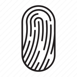 finger prints icon