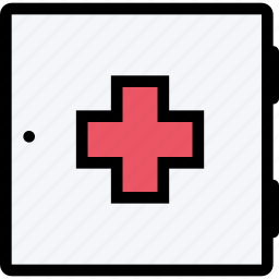 chest, doctor, medication, medicine, pharmacy, pills, treatment icon