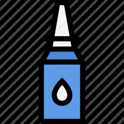 doctor, drops, medication, nasal, pharmacy, pills, treatment icon