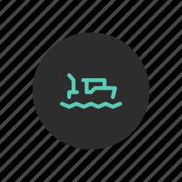 boat, drifter, fishing, sea, trawler, vessel icon