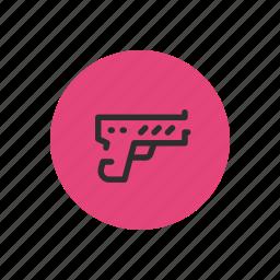 arm, fire, gun, trigger, violence, weapon icon