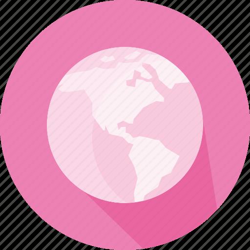 earth, geography, global, globe, planet, world wide web, www icon