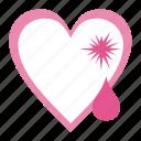 broken heart, heart, love, romantic, tears, valentine's, valentine's day, wedding icon