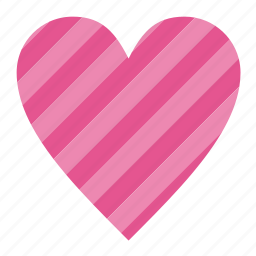 favorites, heart, hearts, like, love, romance, romantic, striped, valentine, valentine's, valentine's day, valentines, wedding icon
