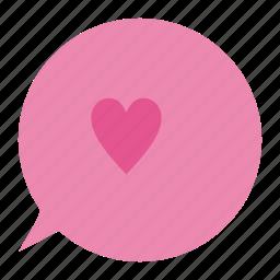 heart, love, romantic, valentine's, valentine's day icon