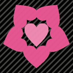 best, day, favorite, flower, flowers, heart, love, romantic, valentine, valentine's, valentine's day icon