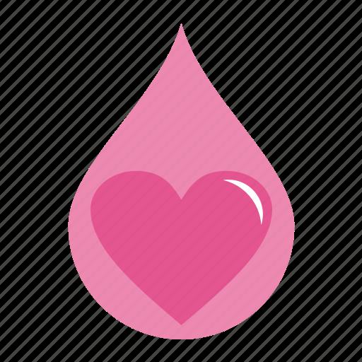 achievement, drop, favorite, heart, like, love, romantic, tears, valentine, valentine's icon