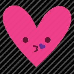 instagram, love, pink, smile, sticker icon