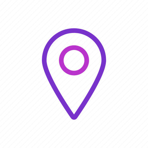 location, marker, navigation, point icon