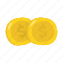 adventure, gold coin, money, ocean, pirate icon
