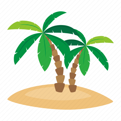 adventure, beach, ocean, palm, pirate icon