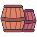 winery, alcohol, vintage, wine, old, drink, barrel