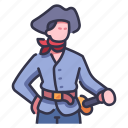 adventure, captain, hat, navy, sailor, sea, seaman icon