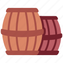 barrel, vintage, winery, alcohol, wine, drink, old