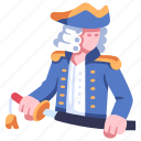 captain, male, navy, officer, royal, sailor, sword