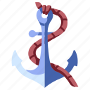 anchor, marine, nautical, navy, sea, ship, vintage