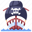 sail, ship, pirate, ocean, sea, adventure, old
