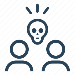 danger, death, human, people, pirate, pirates, skull icon
