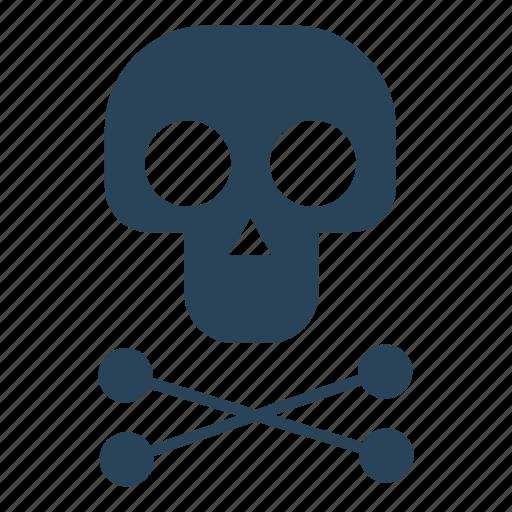 bone, death, human, pirate, pirates, skeleton, skull icon