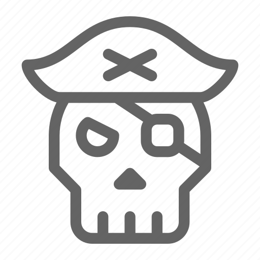 jolly, pirate, roger, skull icon