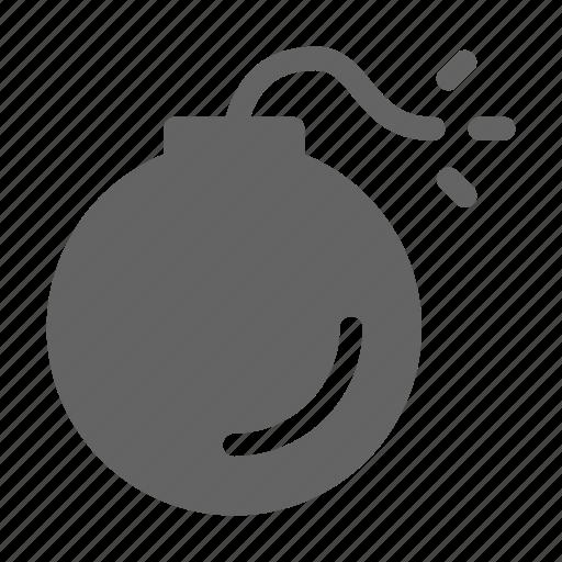 bomb, danger, explosion icon
