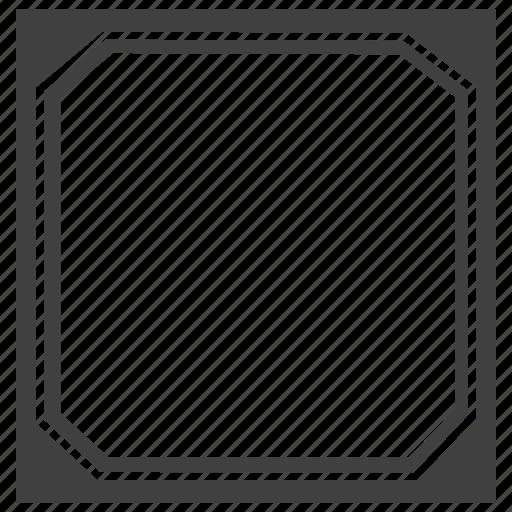 design, frame, shape, square icon