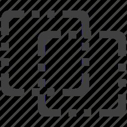 designs, frames, shape icon