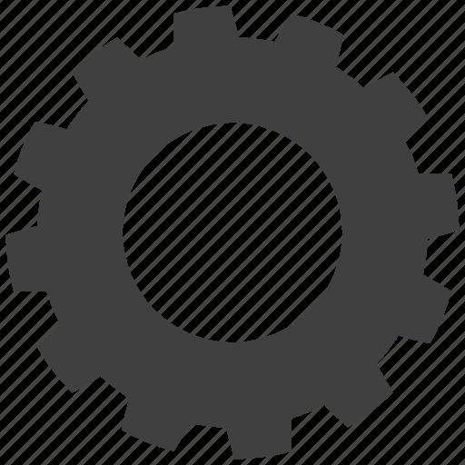 cogwheels, gear, interlink, interlocked, mechanics, wheels icon