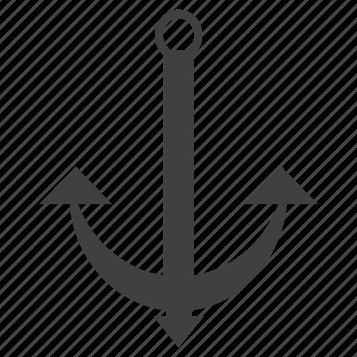 anchor, cruise, equipment, gun, military, nautial, travel icon