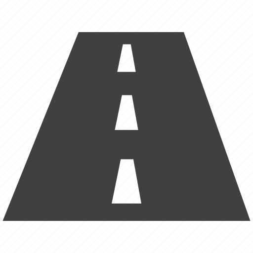 divider, highway, indication, intersection, road, roadway icon