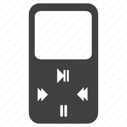 audio, device, ipod, mp3, player, technology icon