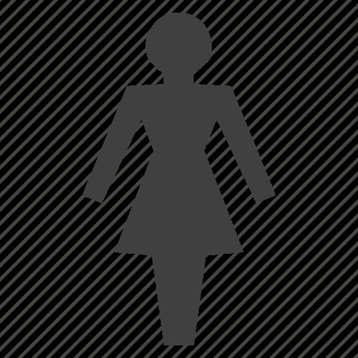 comfort room, ladies, lady, latrine, toilet, washroom, woman icon