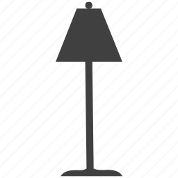 electricity, equipment, lamp, light, power, technology icon