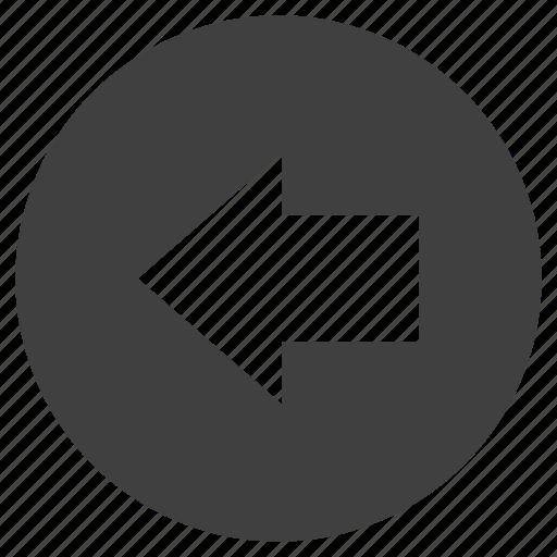 arrow, backward, chrome, click, controls, direction, left, pointer, previous, web icon