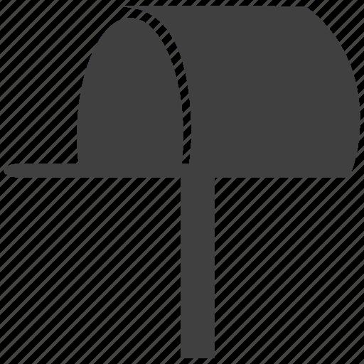 letterbox, postbox, retrieve, shipment, writing icon
