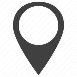 azure, contact, map, marker, navigation, outside, plan icon