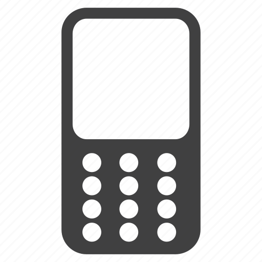 cell, cellphone, communication, contact, mobile, sign, technology, telephone icon