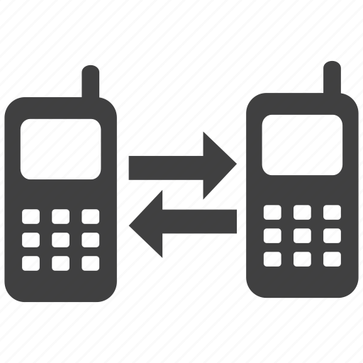 connection, connectivity, data transfer, mobile icon