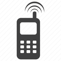 connection, frequency, mobile, ringing, signal, technology icon