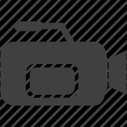 cinematography, film, filmography, movie, reel, strip, video icon