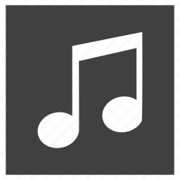 characters, music, musical, note, retro, sing, song icon