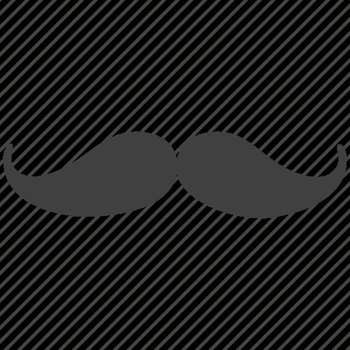 curl, dark, horror, male, man, moustache, mustache, stylized icon