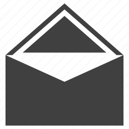 email, envelope, letter, open icon