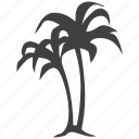 military, palm, plants, tree icon