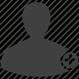 account, add, human, man, member, person, plus, profile icon