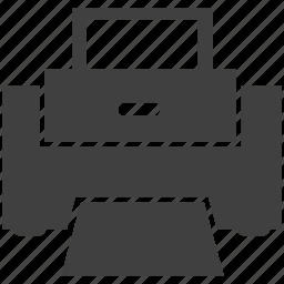 devices, hardware, print, printer icon