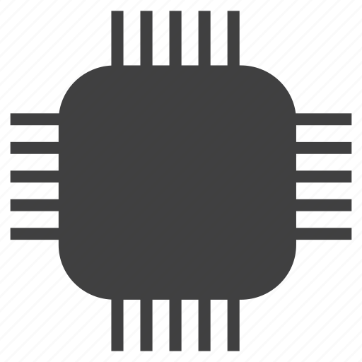chip, hardware, processor icon